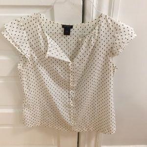Anne Taylor short sleeve blouse